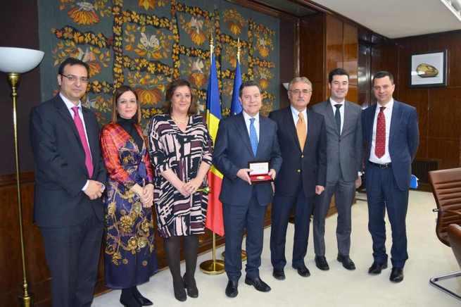 El Gobierno de Rumanía agradece al Ejecutivo de Castilla-La Mancha el extraordinario trato dispensado a la colonia rumana en la región