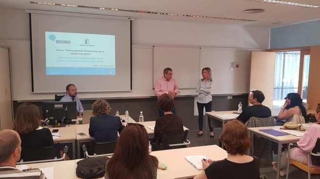 El Gobierno regional impulsa la formación a empleados públicos sobre los instrumentos financieros de la Unión Europea