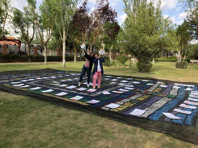 Una yinkana para la promoción y educación en salud para escolares en Villarrubia de Santiago
