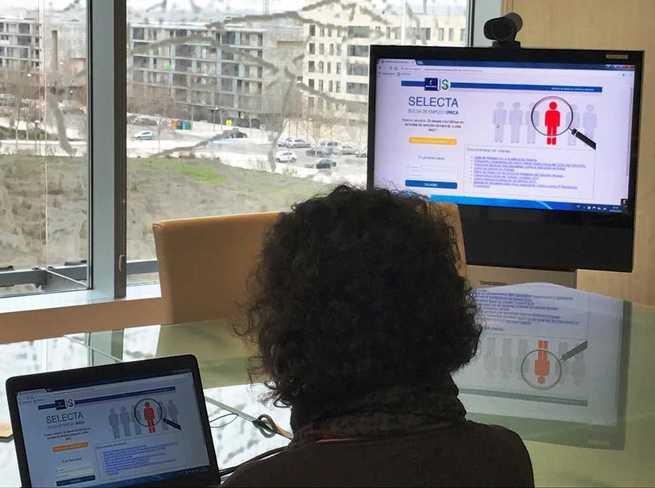 El SESCAM amplía los servicios ofertados desde la aplicación informática de la Bolsa de Trabajo única