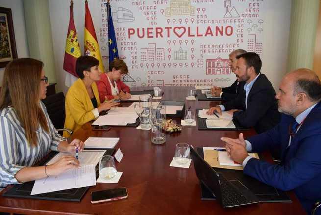 El Gobierno de Castilla-La Mancha reafirma su compromiso por un futuro sostenible en Puertollano ligado a las energías limpias