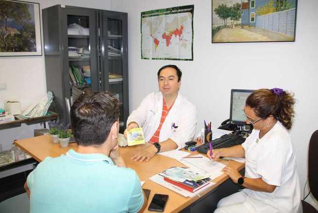 El Centro de Vacunación Internacional de la Gerencia del Área Integrada de Cuenca ha atendido a más de 200 viajeros conquenses