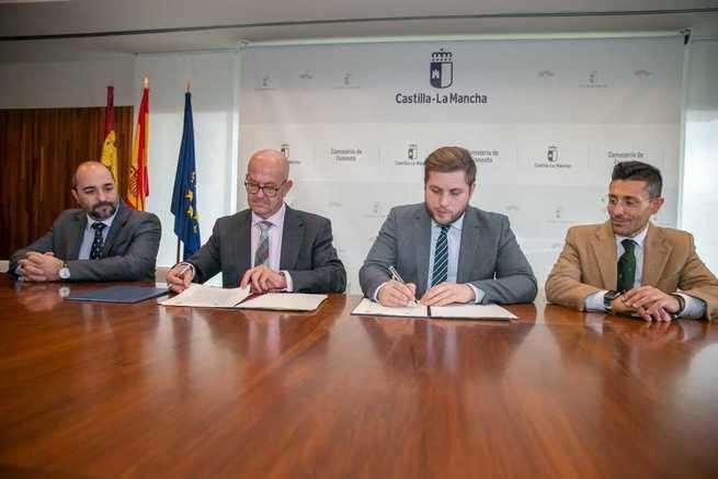 El Gobierno regional amplía el suelo industrial en Mora a través de un novedoso convenio que permitirá el crecimiento empresarial