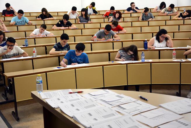 1.664 alumnos despedirán del 12 al 14 de septiembre las Pruebas de Acceso a los Estudios de Grado en la UCLM
