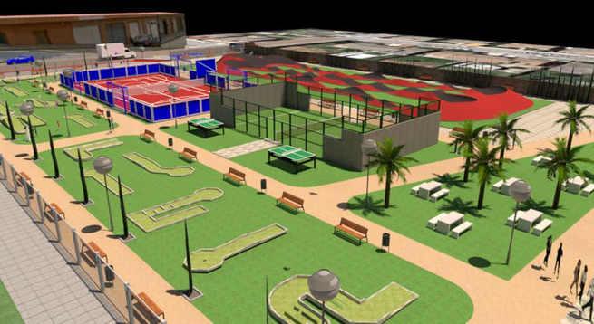 Azuqueca tendrá un nuevo espacio de ocio intergeneracional con 'pump track' y minigolf