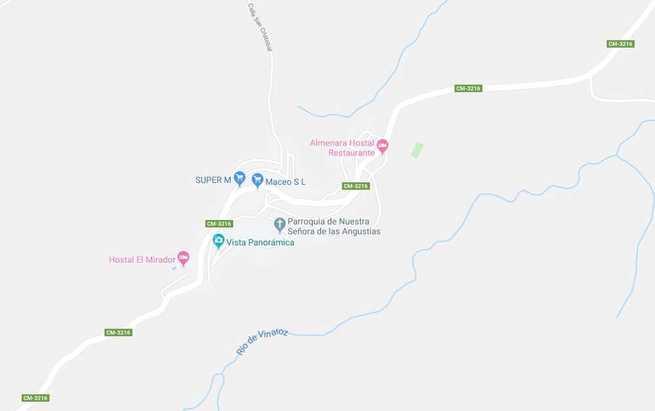 Fallece un motorista tras colisionar frontalmente con un turismo en Paterna del Madera (Albacete)