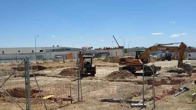 """Las obras de construcción del Centro de Salud de """"El Señorío"""" en Illescas ya están en marcha"""
