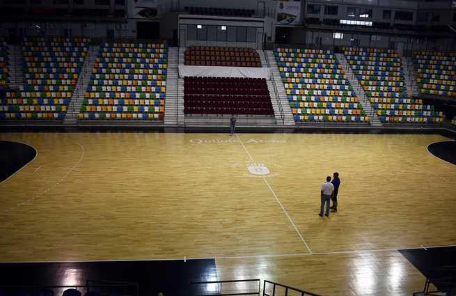 El Ayuntamiento de Ciudad Real destina 28.000 euros a la mejora  de la pista del Pabellón Quijote Arena