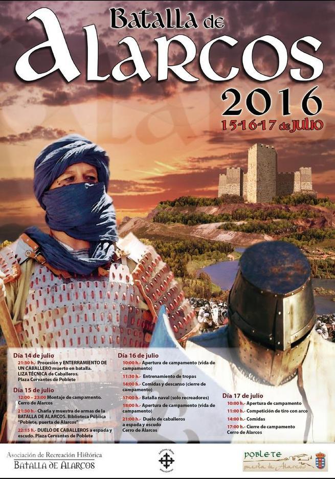 Imagen: La recreación de la Batalla de Alarcos y otros atractivos, preludio de las Fiestas patronales de Santa Mª Magdalena en Poblete