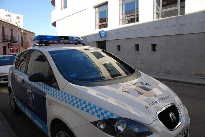 Corte al tráfico de vehículos en Alcázar en tramo Avenida de Herencia