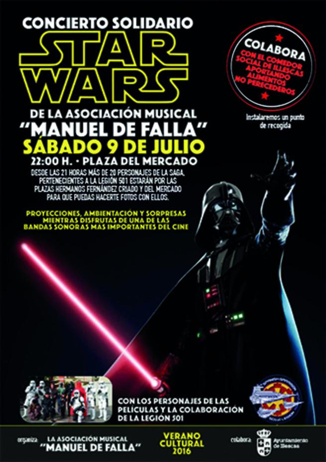 Imagen: Star Wars protagoniza un concierto en Illescas