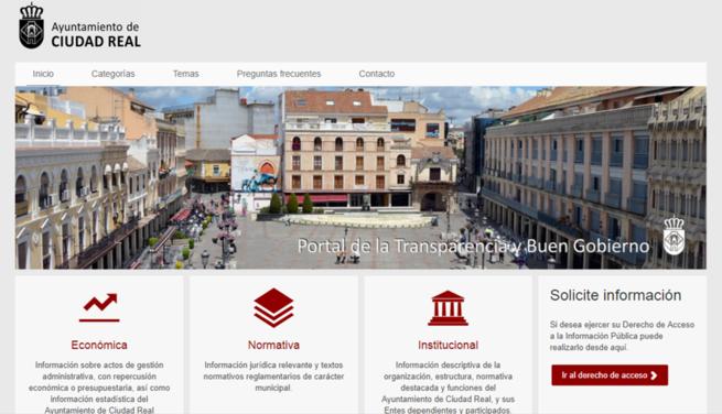 Ciudad Real, la capital más transparente de Castilla-La Mancha
