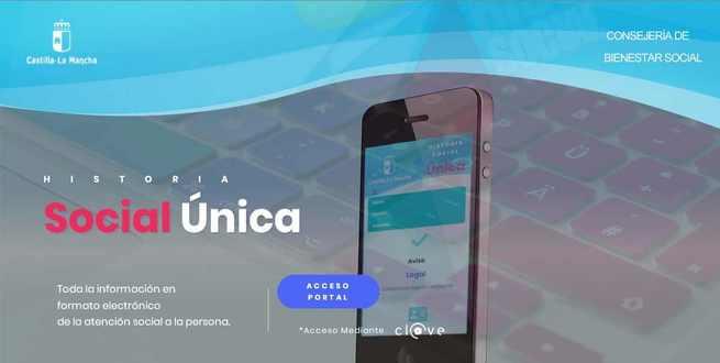 En funcionamiento el Portal de acceso a la Historia Social Única de Castilla-La Mancha
