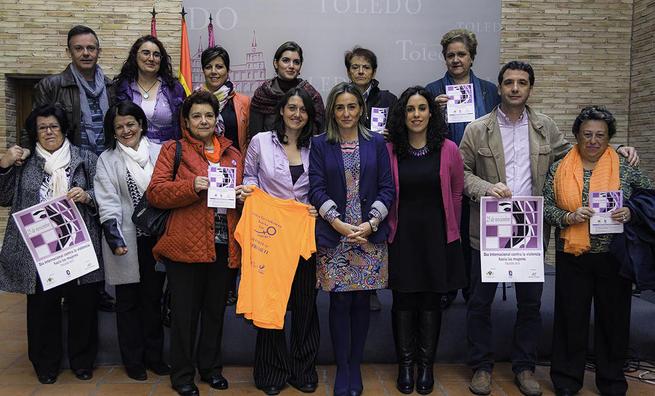 Imagen: Prevenir y sensibilizar, objetivo de los actos organizados por el Ayuntamiento de Toledo por el Día contra la violencia hacia las mujeres