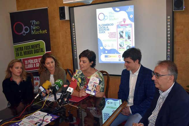 """Los comercios de Ciudad Real ya disponen de una APP para dinamizar sus ventas: """"The Neo Marquet"""""""