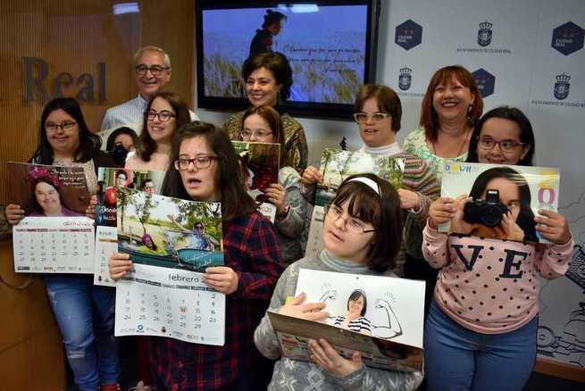 El Calendario Down Caminar Ciudad Real 2020 apuesta por la educación y la promoción personal