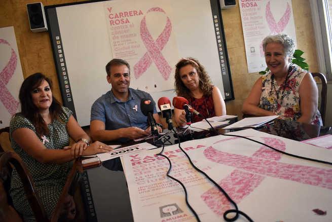 Ciudad Real acogerá el 13 de octubre  la V Carrera Rosa de AMUMA