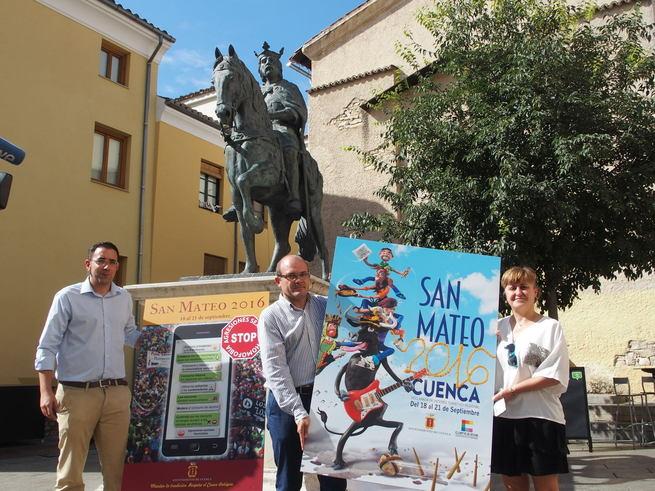 El cartel 'Hay mucho que disfrutar', de Cristóbal Aguiló, será el encargado de anunciar las Fiestas de San Mateo 2016