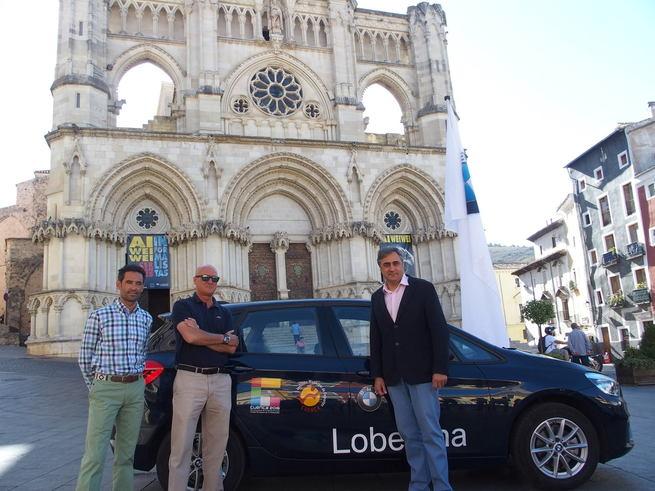 Un nuevo vehículo acercará la imagen del Ayuntamiento y del XXA a las actividades deportivas municipales