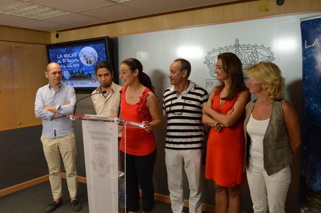 """Imagen: Zamora invita a toda la provincia de Ciudad Real a llenar de color  """"La Noche Blanca"""""""