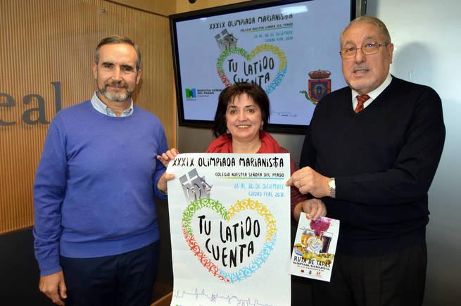2.400 deportistas competirán del 26 al 30  en Ciudad Real en la XXXIX Olimpiada Marianista