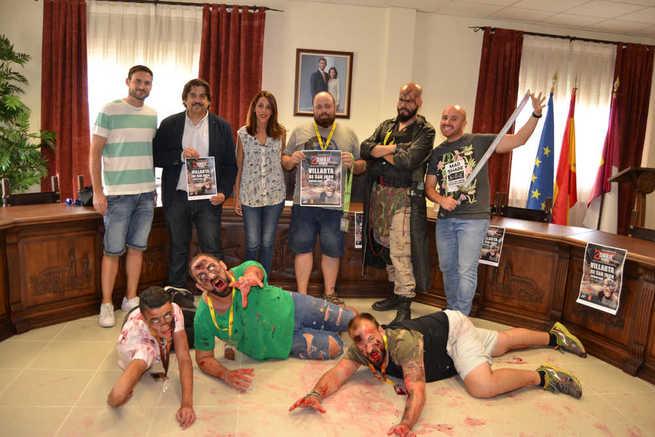 """Los zombies """"invadirán"""" Villarta de San Juan la noche del próximo 28 de septiembre"""