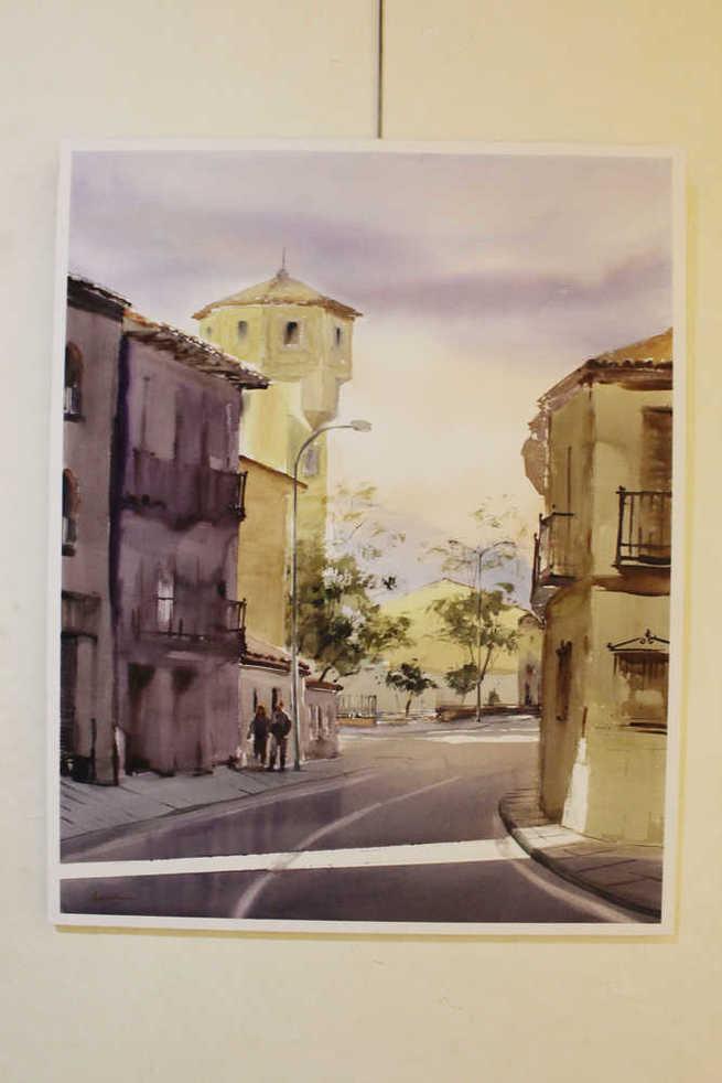 """Homeira Mazinani gana el IV Concurso de Pintura Rápida """"Ven y Pinta Torrijos"""""""