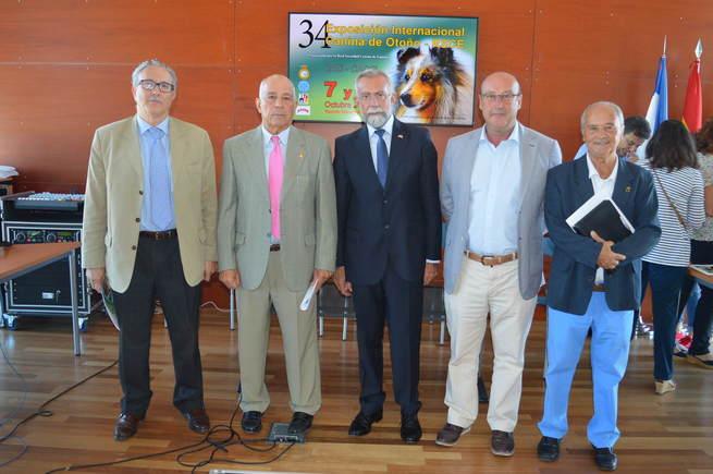 Ramos destaca que la Feria Internacional Canina reporta grandes beneficios a Talavera por el elevado número de participantes y espectadores que atrae