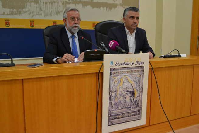 El Alcalde de Talavera presenta una programación navideña con un centenar de actos centrados en los más pequeños