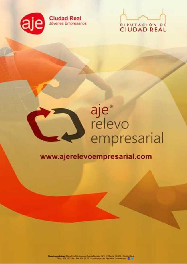 El proyecto de Revelo Empresarial de AJE Ciudad Real forma parte del Plan nacional de Apoyo a la Transmisión de Empresas