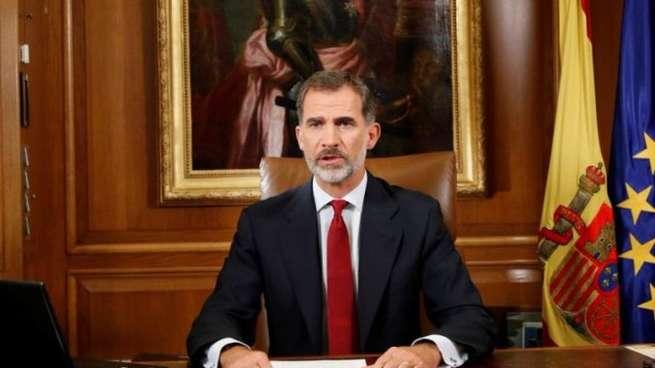 """Felipe VI: """"Son momentos muy difíciles, pero los superaremos"""""""