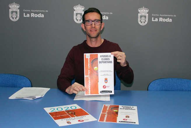 El Ayuntamiento de La Roda destina 144.000 euros para ayudas a clubes deportivos