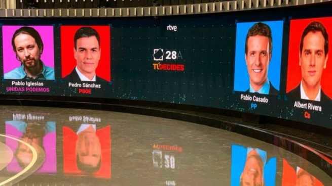 Rivera abrirá el debate en RTVE, que cerrará Sánchez