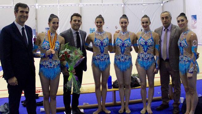 Guadalajara pudo presenciar en junio los ejercicios que ayer le dieron la plata en Río a la selección española