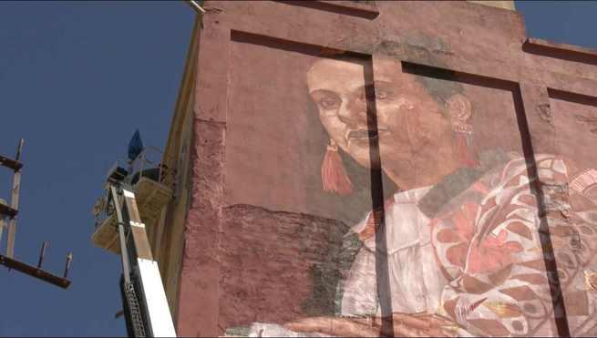 """Herencia se suma al proyecto """"Titanes"""", referencia de arte urbano en el mundo, de integración y de recuperación de nuestro pasado"""
