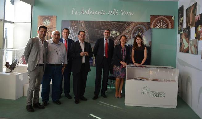 Imagen: Álvaro Gutiérrez: La artesanía tendrá un papel destacado en el plan estratégico de turismo de la Diputación de Toledo