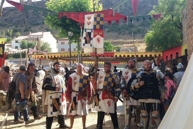 Cañete disfruta un año más con la emoción y el espectáculo de su Alvarada medieval
