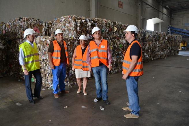 El Ecoparque de Toledo duplicará la recuperación de vidrio en la provincia de Toledo