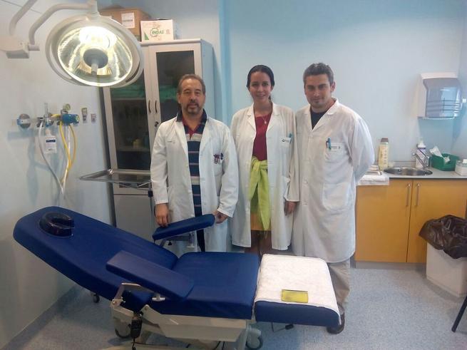 Imagen: La Unidad de tratamiento intravítreo del Hospital de Manzanares atiende a 360 pacientes