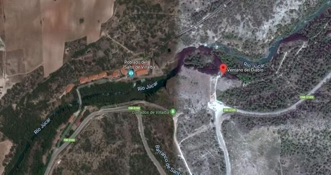 Una mujer se precipita desde 8 metros cuando practicaba barranquismo en Villalba de la Sierra (Cuenca)