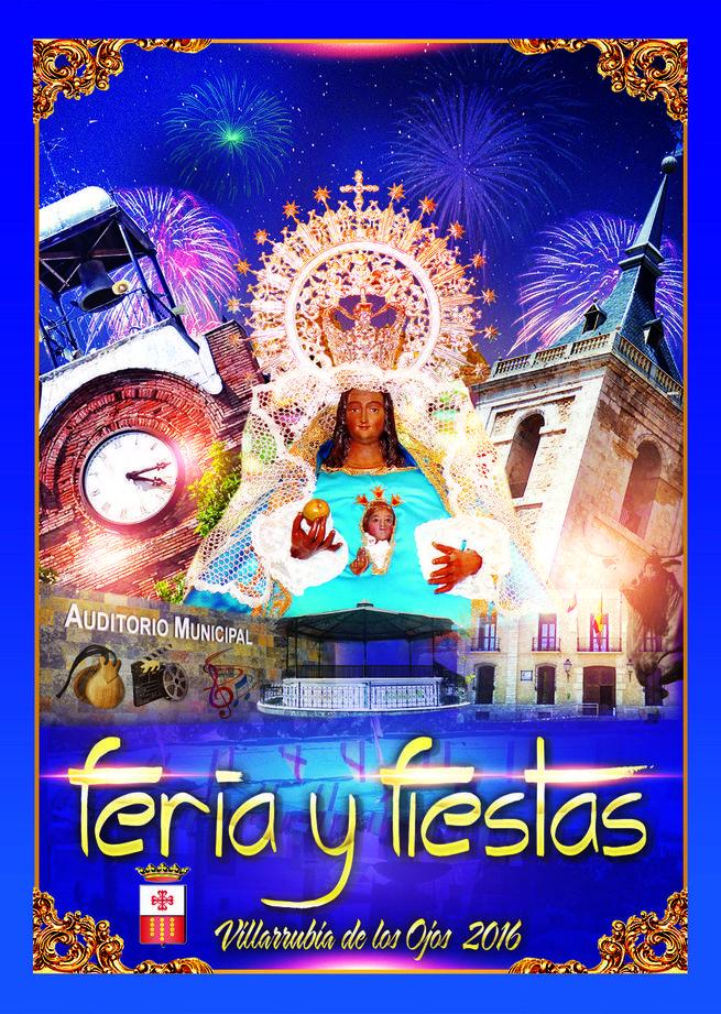 Malú y Loquillo, gran apuesta de las Fiestas de Villarrubia de los Ojos del 7 al 12 de septiembre, en honor de la Virgen de la Sierra