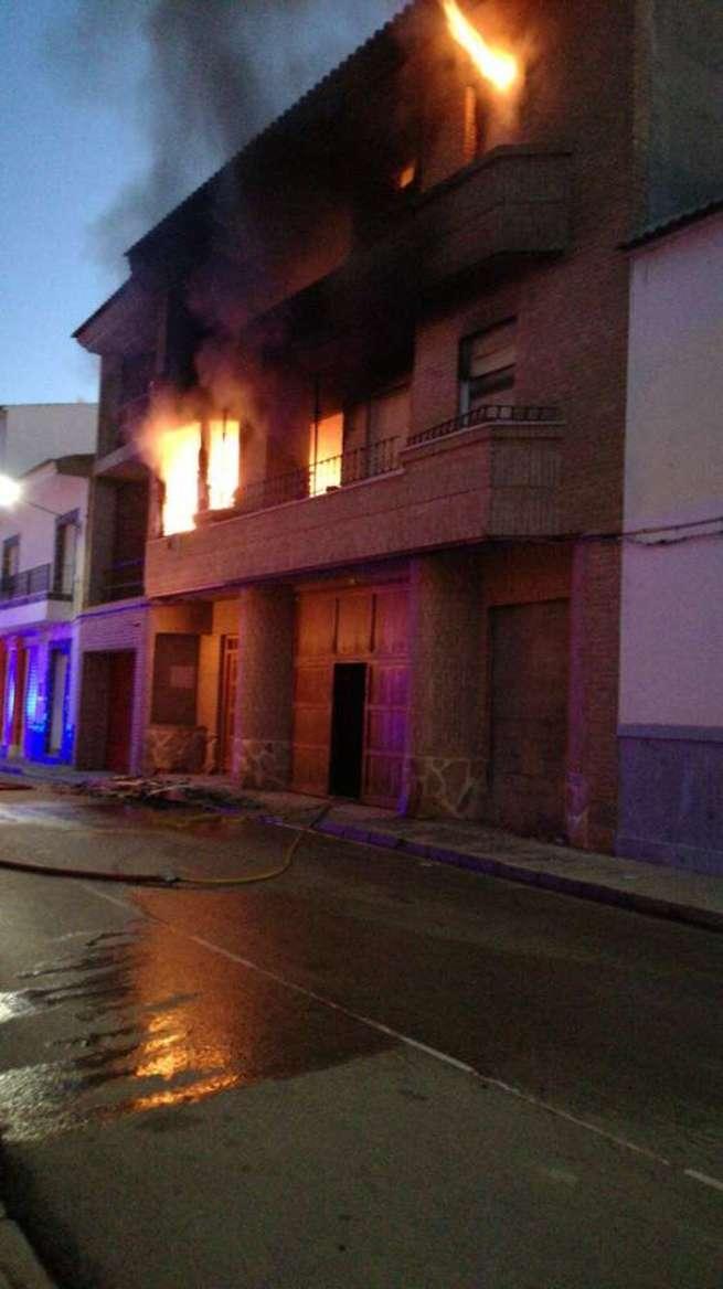 Imágenes: Personal de Emergencia Ciudad Real