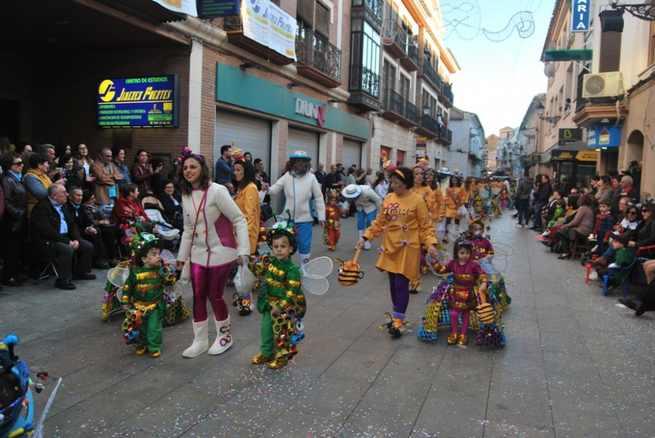 Los niños de Villarrobledo volverán a salir a la calle este viernes para su desfile regional