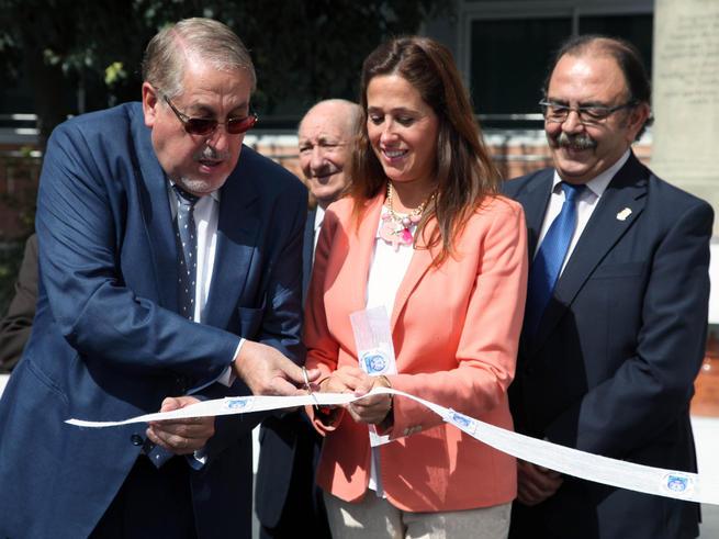 imagen de La alcaldesa de Ciudad Real asiste a la inauguración del nuevo colegio Nuestra Señora del Prado