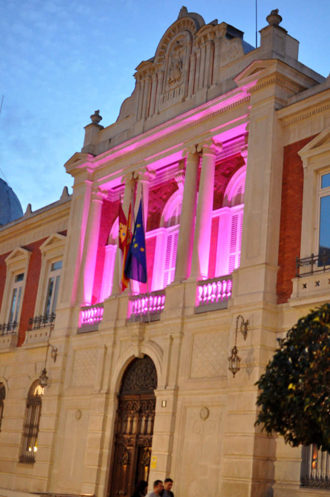 imagen de Objetivo CLM apoya la lucha contra el cáncer de mama