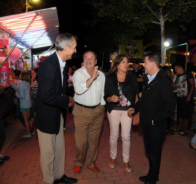 imagen de El barrio de Buenavista inicia sus tradicionales fiestas con la presencia del alcalde de Toledo