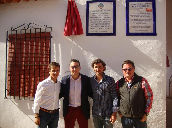 imagen de La plaza de toros de Alcázar de San Juan rinde homenaje al alcalde