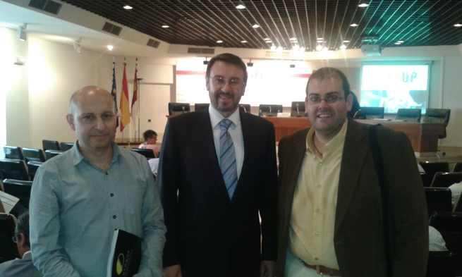 imagen de Objetivo Castilla-La Mancha a la presentación de un nuevo sistema de colaboración empresarial; Business Up System