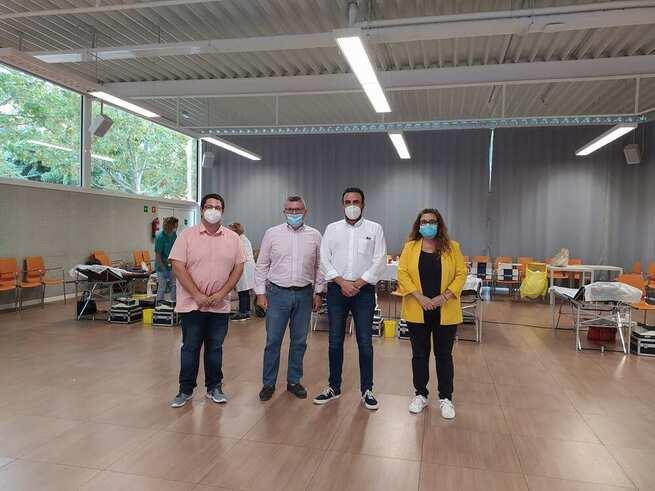 El Ayuntamiento cede el Centro de Ocio Río Henares para una campaña de extracción de sangre