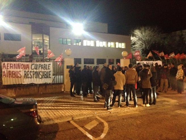 Imagen: Seguimiento unánime de la huelga en Aeronáutica y Automoción contra los fraudes y abusos en la contratación temporal